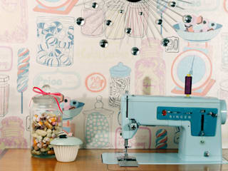Oh Sweetie Wallpaper by Kate Usher Studio:   by Kate Usher Studio