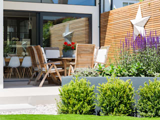 Broadgates Road SW18 Modern style gardens by BTL Property LTD Modern