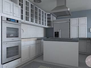 Cozinhas  por MGC Diseño de Interiores , Clássico