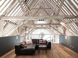 Photography - barn conversion in Sawbridgeworth Salas multimedia modernas de Adelina Iliev Photography Moderno