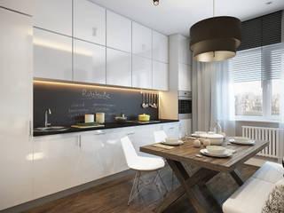 Кухня «Атланта» Кухня в стиле минимализм от Decolabs Home Минимализм