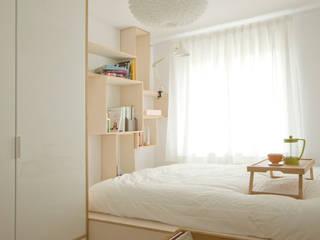 Minimalist bedroom by MIEJSCA Minimalist