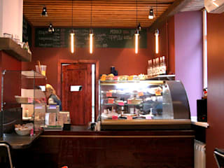 Кофейня the Bakery, г.Самара Кухня в стиле модерн от Yana Ryabchenko Модерн