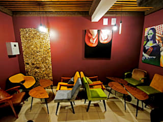 Кофейня the Bakery, г.Самара:  в современный. Автор – Yana Ryabchenko, Модерн