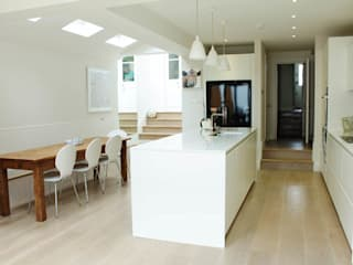 Galveston Road - SW15 Modern Kitchen by BTL Property LTD Modern