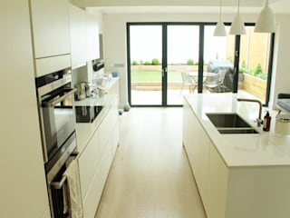 Galveston Road - SW15 Cucina moderna di BTL Property LTD Moderno