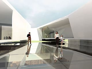 Musées de style  par ODVO Arquitetura e Urbanismo, Moderne