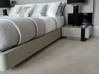Velvet Carpet Modern style bedroom by The Prestige Flooring Company Modern