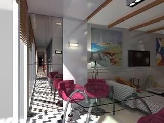 Винтаж и современность Балконы и веранды в эклектичном стиле от Yana Ryabchenko Эклектичный