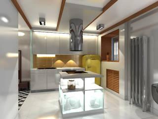 Винтаж и современность Кухни в эклектичном стиле от Yana Ryabchenko Эклектичный