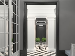 FEDOROVICH Interior Classic style corridor, hallway and stairs