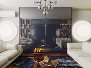 Living room by FEDOROVICH Interior, Colonial