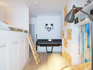 Chambre d'enfant de style  par Katerina Butenko, Éclectique