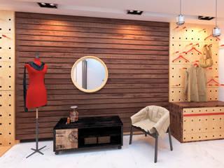 Pasillos y vestíbulos de estilo  de Katerina Butenko, Ecléctico