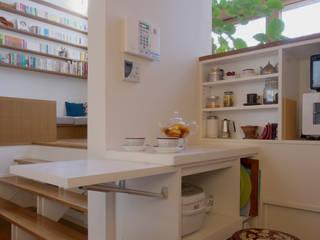 Cocinas de estilo escandinavo de 長浜信幸建築設計事務所 Escandinavo