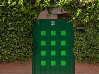 Puerta peatonal Pixéling® de Puerta Bonita Moderno