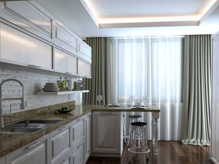 DE LIFE HOMES Klasik Mutfak Çağrı Aytaş İç Mimarlık İnşaat Klasik