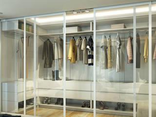 Çağrı Aytaş İç Mimarlık İnşaat – DE LIFE HOMES:  tarz Giyinme Odası