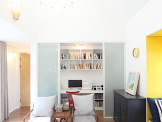 Modern Study Room and Home Office by 주택설계전문 디자인그룹 홈스타일토토 Modern