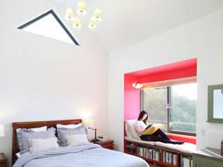 부부침실 모던스타일 침실 by 주택설계전문 디자인그룹 홈스타일토토 모던