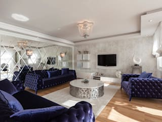 Mimoza Mimarlık Modern Living Room