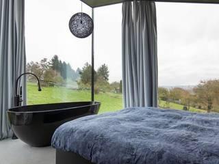 Wohnhaus Dielsdorf:  Schlafzimmer von L3P Architekten ETH FH SIA AG