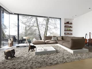 Living room by STREIF Haus GmbH