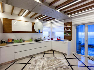Mimoza Mimarlık Modern kitchen