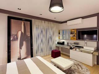 A. MORİTA EVİ ANTALYA Modern Yatak Odası Mimoza Mimarlık Modern