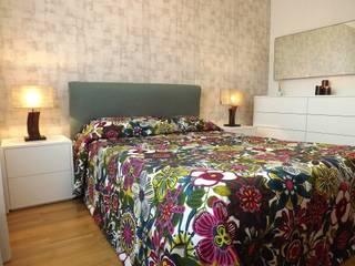 Apartamento c/ 1 quarto - Queijas, Oeiras: Quartos  por Traço Magenta - Design de Interiores