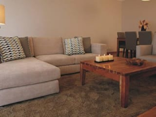 Apartamento c/ 3 quartos - Alto da Barra, Oeiras Salas de estar modernas por Traço Magenta - Design de Interiores Moderno