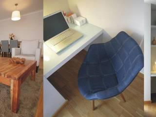 Apartamento c/ 3 quartos - Alto da Barra, Oeiras: Salas de estar  por Traço Magenta - Design de Interiores