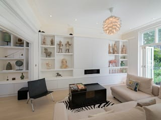 Hampstead Family Home, London DDWH Architects Modern living room