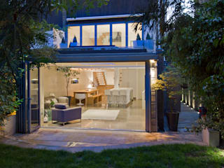 St Johns Wood Family Home, London DDWH Architects Casas de estilo minimalista