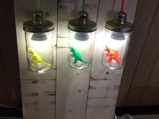 La lampe La tête dans le bocal par La Tête dans le bocal