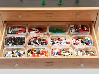 Activity Table & Toy Organiser CONSTRUCTION CENTRE:   by Finoak LTD