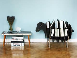 Projekty,  Salon zaprojektowane przez Stange Design
