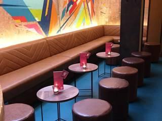 Wahaca, Margaret Street Bar Area:   by Hillam Furniture