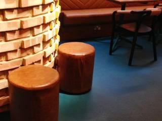 Wahaca,  Bar Area:   by Hillam Furniture