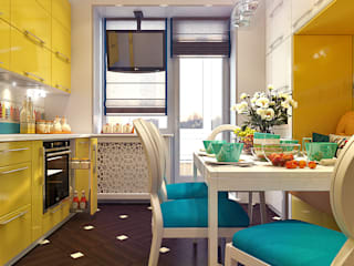 Kitchen by Your royal design, Eclectic