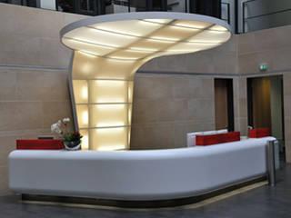 Eben futuristisch:  Bürogebäude von Raum + Objekt Bernhard Maltry e.K.