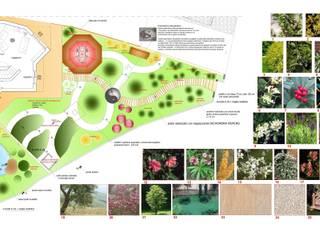 Mediterraner Garten von Giuseppe Maria Padoan bioarchitetto - casarmonia progetti e servizi Mediterran