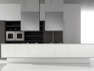 Ecopal Blanco Brillo Modern Kitchen by Squaremelon Modern