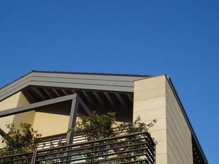 Modern houses by Studio di architettura_Claudio Dorigo architetto Modern