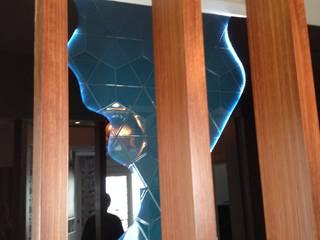 Gizem Kesten Architecture / Mimarlik Modern corridor, hallway & stairs