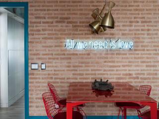 Столовые комнаты в . Автор – Juliana Pippi Arquitetura & Design, Модерн