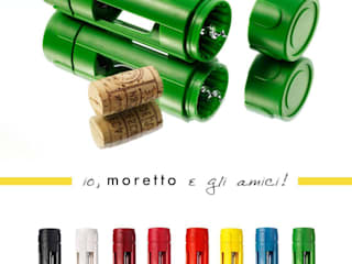 Cavatappi Moretto di Moretto Made in Italy Moderno