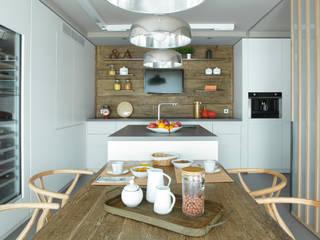 adela cabré Scandinavian style kitchen