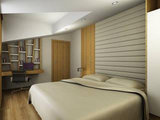 Bedroom by Niyazi Özçakar İç Mimarlık, Modern