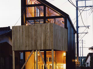 狭小ローコスト住宅 オリジナルな 家 の スタジオ4設計 オリジナル